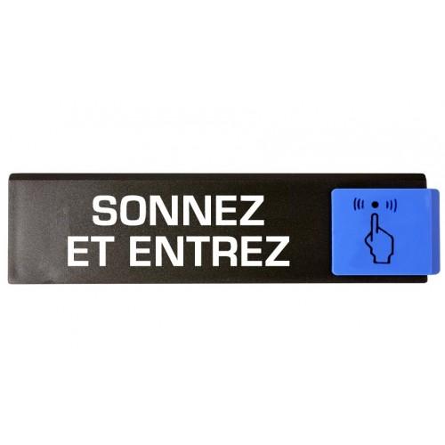 Plaquette Europe Design - Sonnez et Entrez
