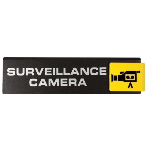 Plaquette Europe Design - Surveillance Caméra