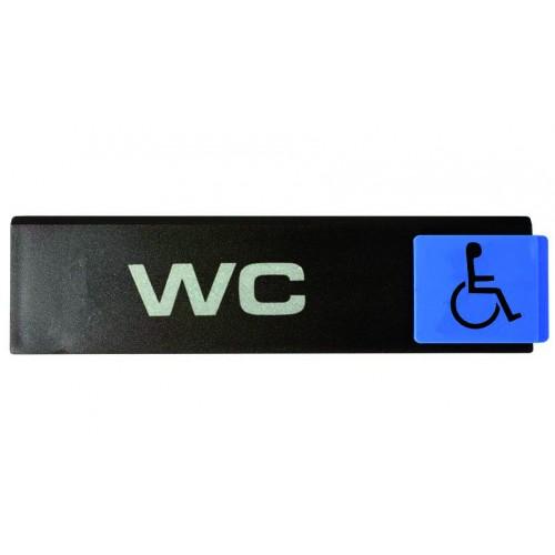 Plaquette Europe Design - WC handicapés