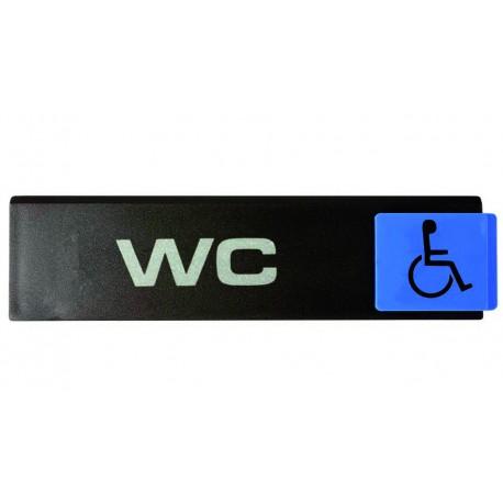 Plaquettes Europe Design - WC handicapé