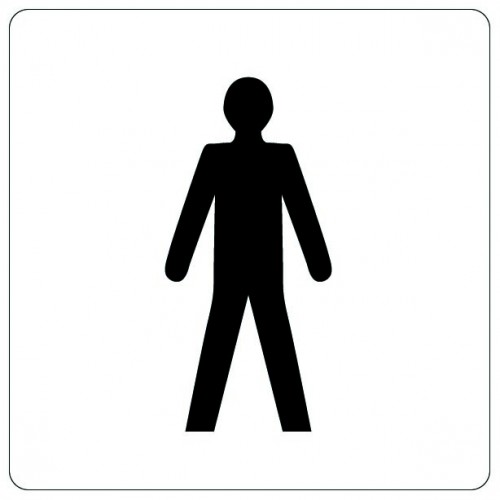 Pictogramme - Toilettes Hommes