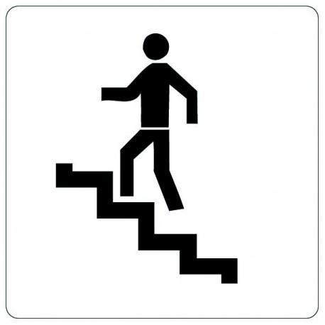 Pictogramme - Escalier montée