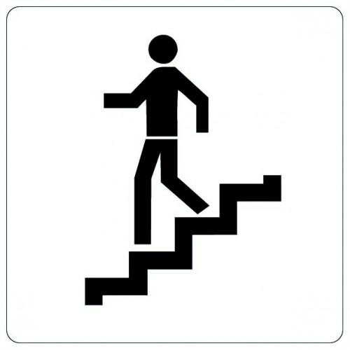 Pictogramme - Escalier Descente