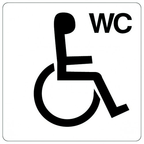 Pictogramme - WC handicapé