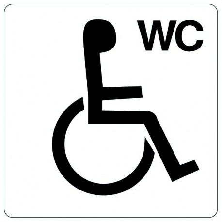 Pictogramme - WC handicapé