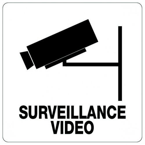 Pictogramme - Espace Sous Surveillance Vidéo