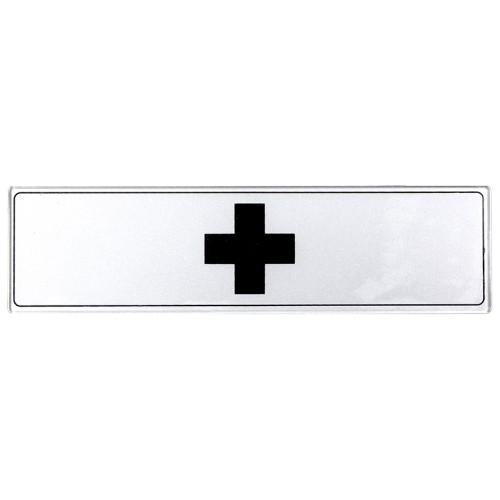 Plaquette Plexiglas Classique Argent - Centre de Soin