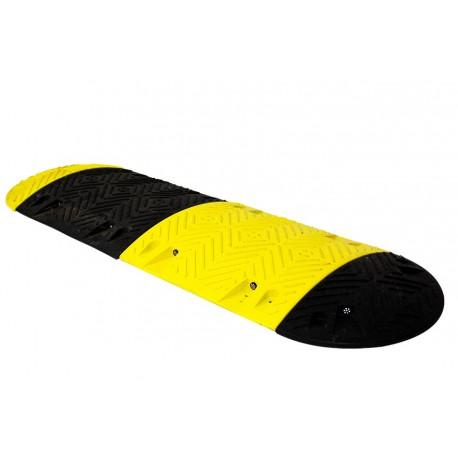 Ralentisseur Parking - kit de 4 modules 50 mm jaunes et noirs