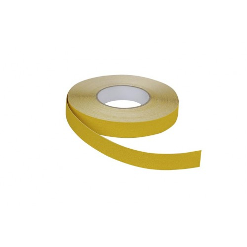 Ruban adhésif antidérapant 25 mm x 18 m jaune