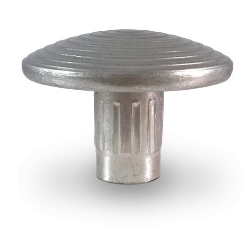 Clous podotactiles - LOT DE 1000 - à sceller éveil de vigilance CLASSICO - acier